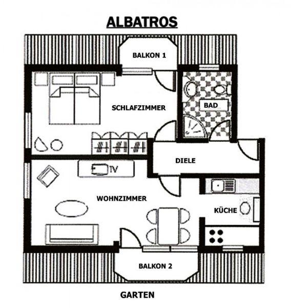 ALBATROSS-GRUNDRISS
